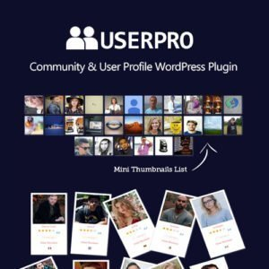 Sale! Buy Discount UserPro – Community and User Profile WordPress Plugin - Cheap Discount Price