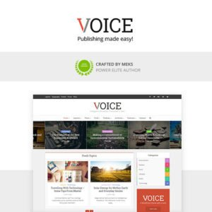 Sale! Buy Discount Voice – Clean News/Magazine WordPress Theme - Cheap Discount Price