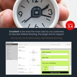 Sale! Buy Discount Webba Booking – WordPress Appointment & Reservation plugin - Cheap Discount Price
