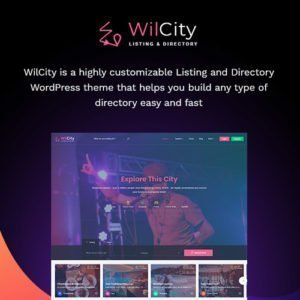 Sale! Buy Discount Wilcity – Directory Listing WordPress Theme - Cheap Discount Price