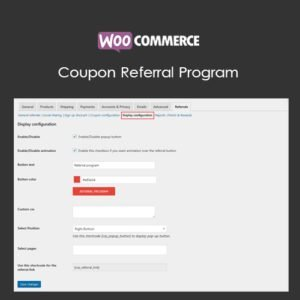 Sale! Buy Discount WooCommerce Coupon Referral Program - Cheap Discount Price