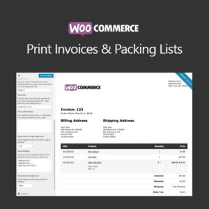 Sale! Buy Discount WooCommerce Print Invoices & Packing Lists - Cheap Discount Price
