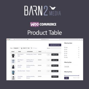 Sale! Buy Discount WooCommerce Product Table - Cheap Discount Price