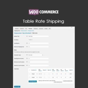 Sale! Buy Discount WooCommerce Table Rate Shipping - Cheap Discount Price