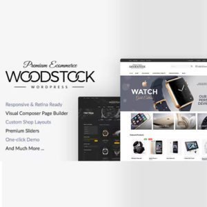 Sale! Buy Discount Woodstock – Electronics Responsive WooCommerce Theme - Cheap Discount Price