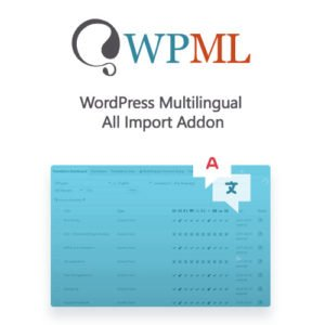 Sale! Buy Discount WordPress Multilingual All Import Addon - Cheap Discount Price