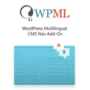 Sale! Buy Discount WordPress Multilingual CMS Nav Add-On - Cheap Discount Price