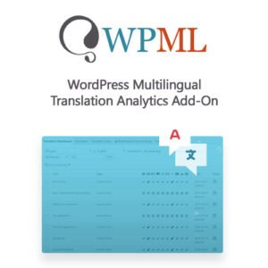Sale! Buy Discount WordPress Multilingual Translation Analytics Add-On - Cheap Discount Price