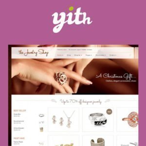 Sale! Buy Discount YITH The Jewelry Shop – A Luxurious and Elegant Theme - Cheap Discount Price