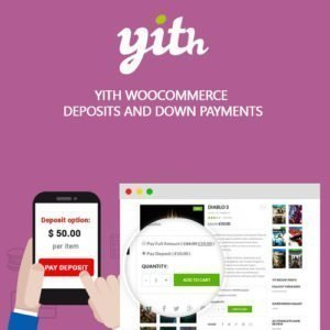 Sale! Buy Discount YITH WooCommerce Deposits and Down Payments Premium - Cheap Discount Price