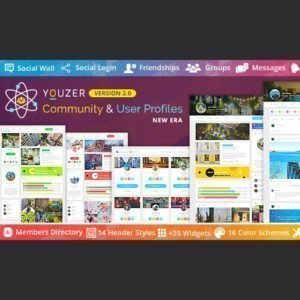 Sale! Buy Discount Youzer – Community & User Profiles Management - Cheap Discount Price