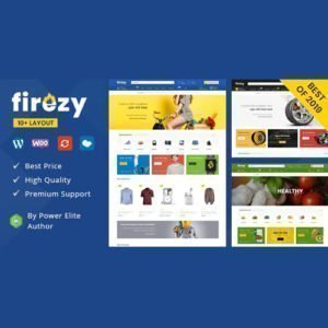 Sale! Buy Discount Firezy – Multipurpose WooCommerce Theme - Cheap Discount Price
