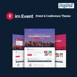 Sale! Buy Discount im Event – Event & Conference WordPress Theme - Cheap Discount Price